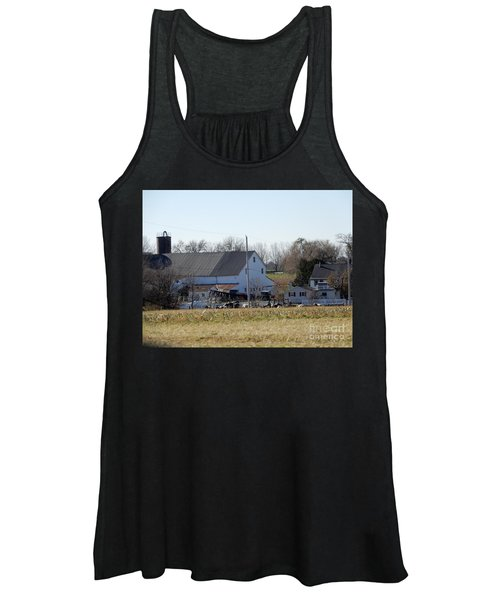 A Sunny November Afternoon Women's Tank Top