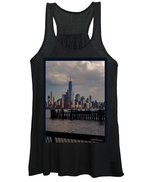 Abandoned Hoboken Pier Women's Tank Top