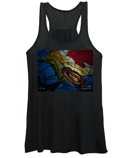 Abstract-31 Women's Tank Top