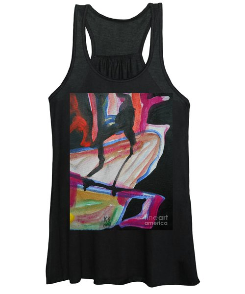 Abstract-5 Women's Tank Top