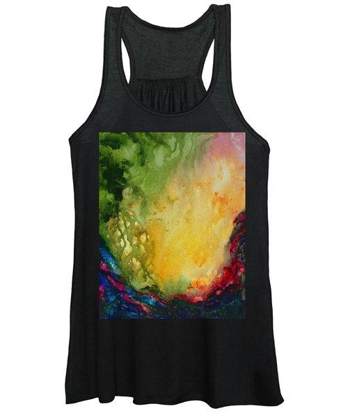 Abstract Color Splash Women's Tank Top
