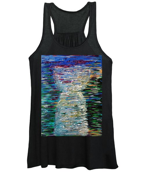 Abstract Latte Stone Women's Tank Top