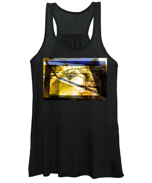 Abstract Mosaic Women's Tank Top