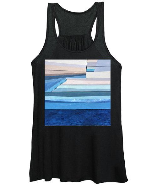 Abstract Swimming Pool Women's Tank Top