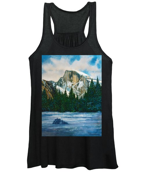 After The Snowfall, Yosemite Women's Tank Top