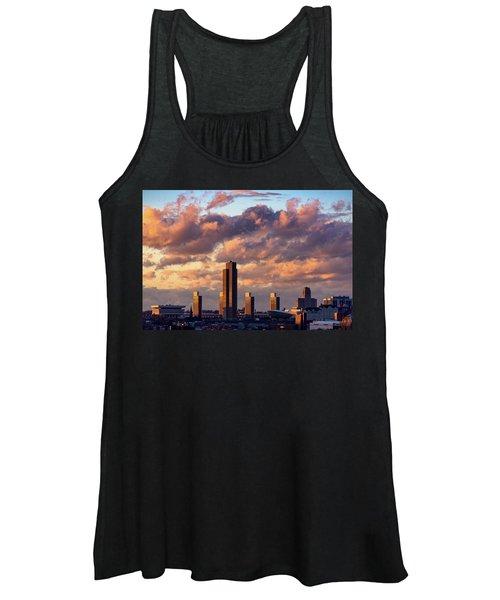 Albany Sunset Skyline Women's Tank Top