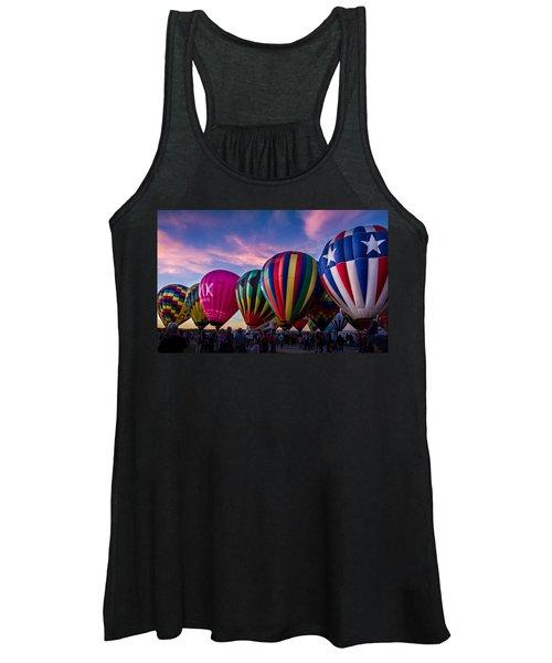 Albuquerque Hot Air Balloon Fiesta Women's Tank Top