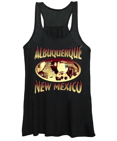 Albuquerque New Mexico Design Women's Tank Top