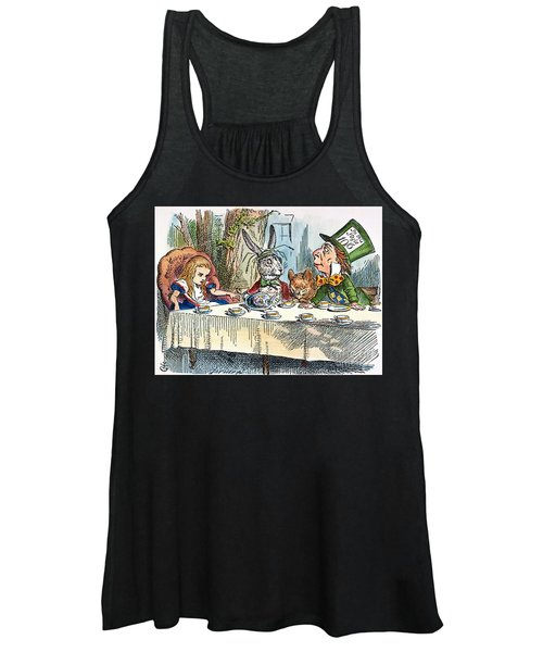 Alices Mad-tea Party, 1865 Women's Tank Top