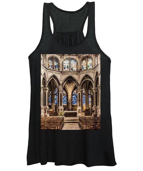 Paris, France - Altar - Saint-severin Women's Tank Top
