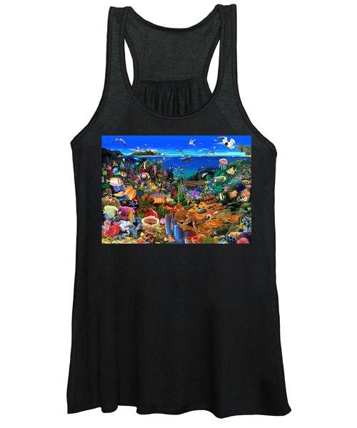Amazing Coral Reef Women's Tank Top