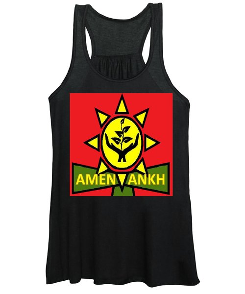 Amen Ankh Sunset Women's Tank Top