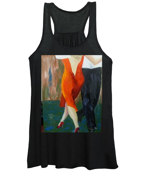 Another Tango Twirl Women's Tank Top
