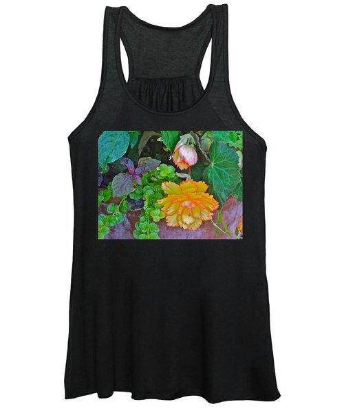 Apricot Begonia 3 Women's Tank Top