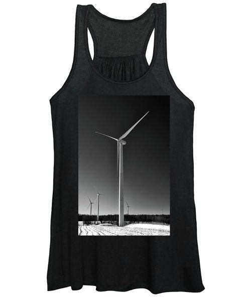 Arcade Wind Turbines 6557 Women's Tank Top