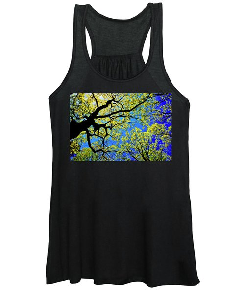 Artsy Tree Canopy Series, Early Spring - # 01 Women's Tank Top