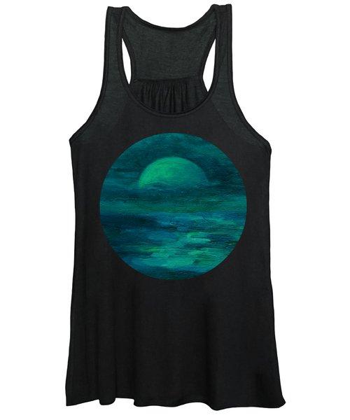 Moonlight On The Water Women's Tank Top