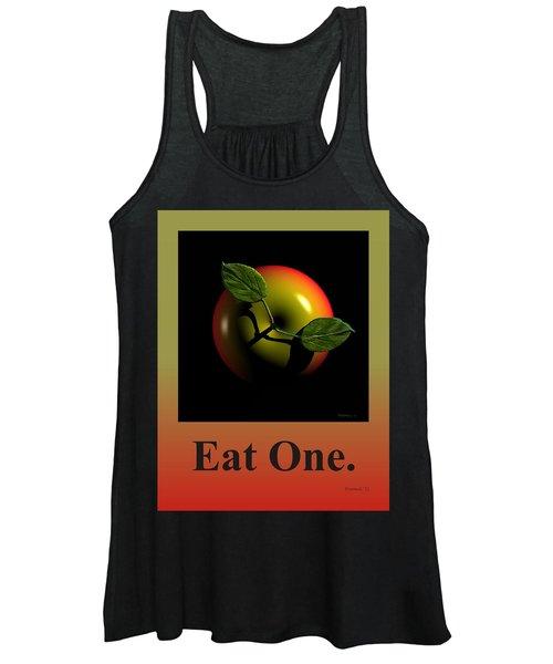 Eat One  Women's Tank Top