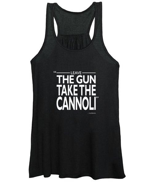 Leave The Gun Take The Cannoli Women's Tank Top