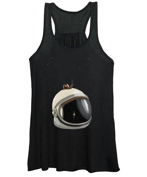 Astronaut's Helmet Women's Tank Top