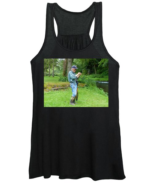 Attaching The Lure Women's Tank Top