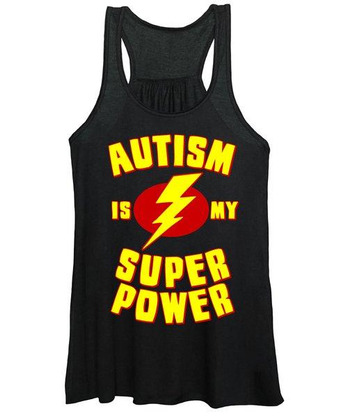 Autism Is My Superpower Women's Tank Top
