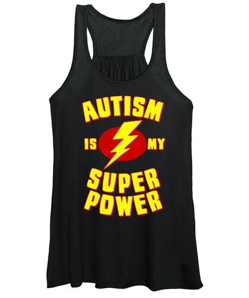 Autism Is My Superpower Women's Tank Top