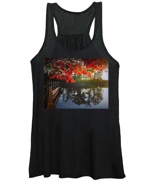 Autumn Creek Magic Women's Tank Top
