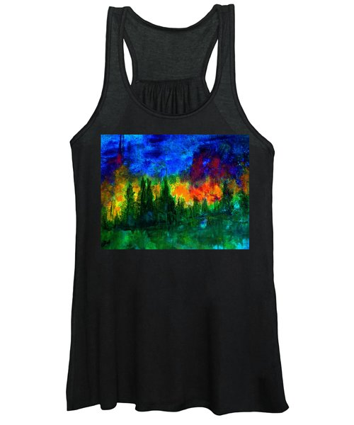 Autumn Fires Women's Tank Top