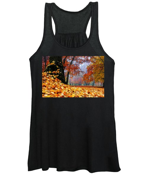 Autumn In The Woodland Women's Tank Top