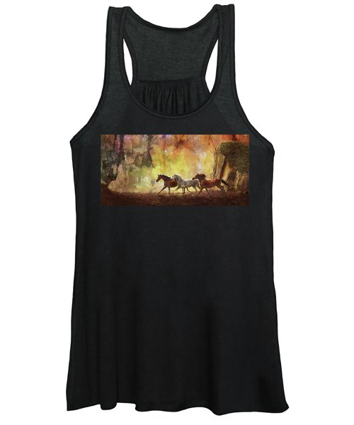 Autumn Run Women's Tank Top