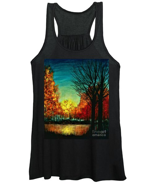 Autumn Silhouette  Women's Tank Top