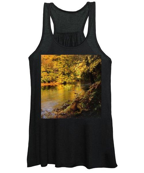 Autumnal Tamar River Devon Women's Tank Top