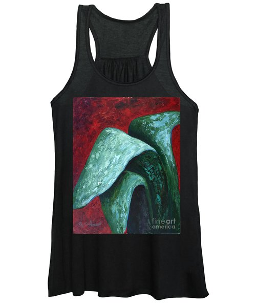 Av Leaves Women's Tank Top