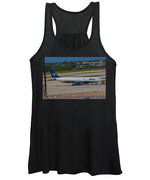 Azul Barzillian Airline Women's Tank Top