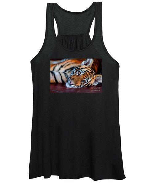 Baby Tiger Women's Tank Top