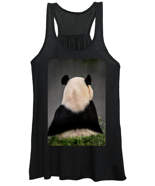 Backward Panda Women's Tank Top