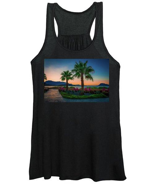 Baja Sunset Women's Tank Top