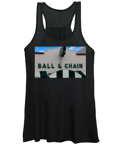 Ball And Chain Women's Tank Top