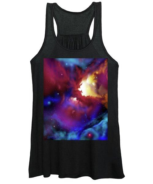 Bat Nebula Women's Tank Top