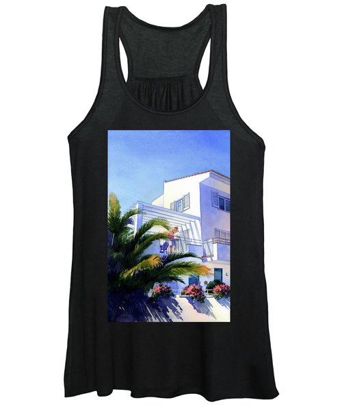 Beach House At Figueres Women's Tank Top