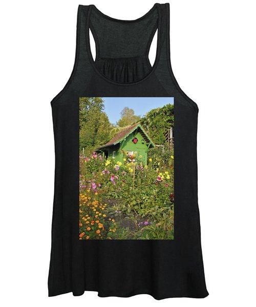 Beautiful Colorful Flower Garden Women's Tank Top