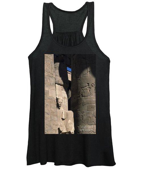 Belief In The Hereafter - Luxor Karnak Temple Women's Tank Top