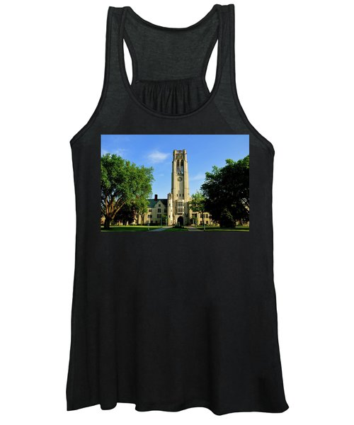 Bell Tower At The University Of Toledo Women's Tank Top