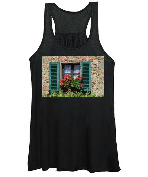 Bella Italian Window  Women's Tank Top