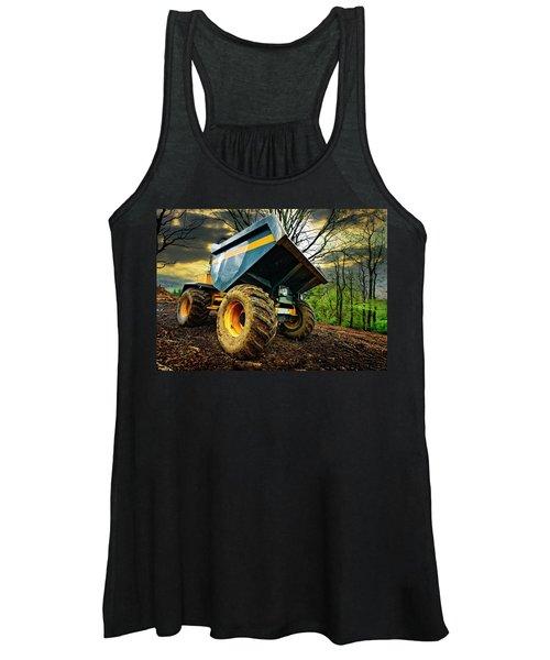 Big Bad Dumper Truck Women's Tank Top