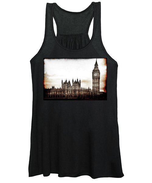 Big Bend And The Palace Of Westminster Women's Tank Top
