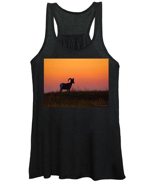 Bighorn Sunset Women's Tank Top