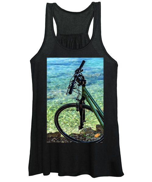Biking The Rovinj Coastline - Rovinj, Istria, Croatia Women's Tank Top