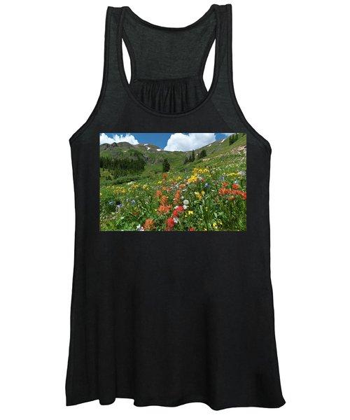 Black Bear Pass Landscape Women's Tank Top